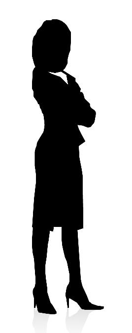 BusinessWomanSilhouette