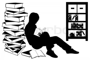 7024455-silhouette-of-a-girl-reading-a-book
